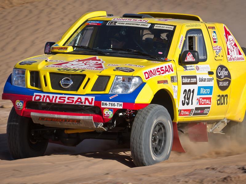 Nissan Navara en el Rally Dakar 2014