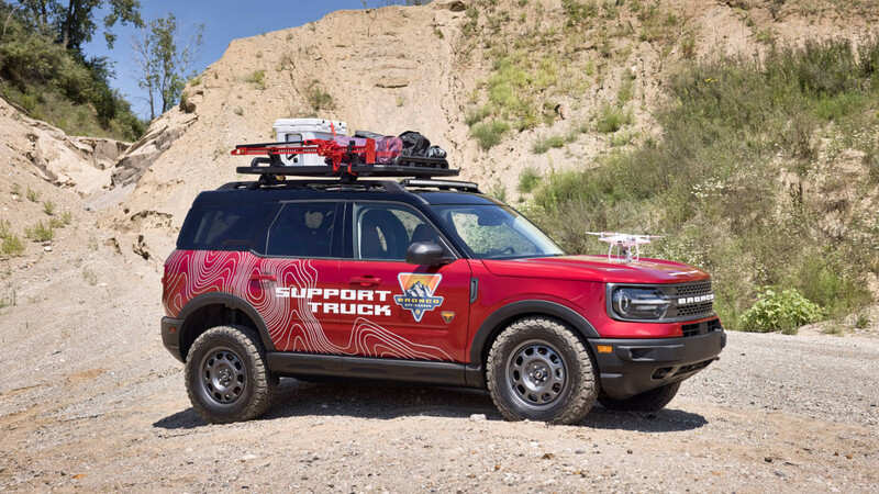 Ford Bronco Sport Off-Roadeo Adventure Patrol