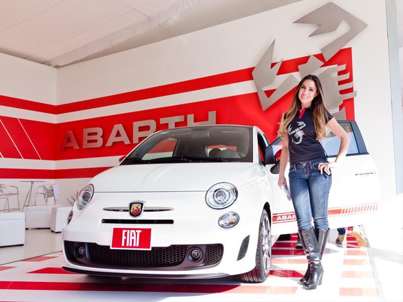 FIAT 500 Abarth en el Concurso de la Elegancia
