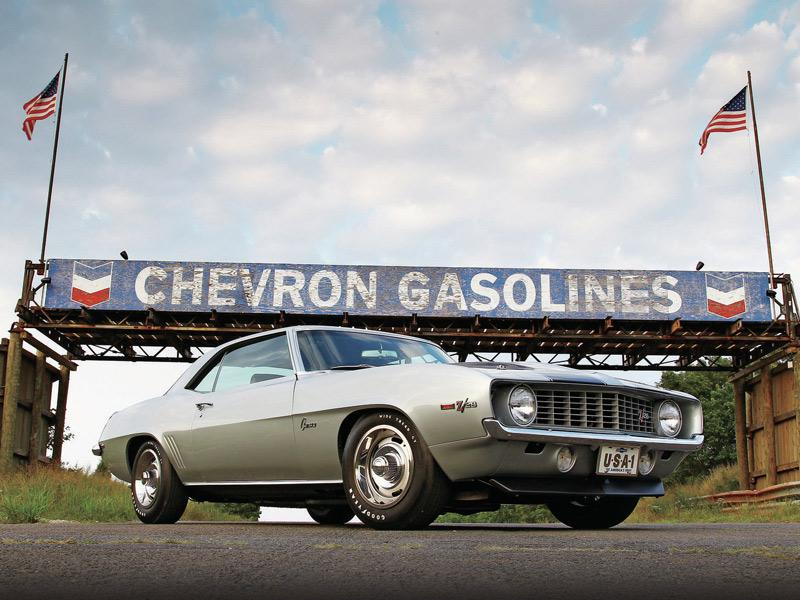 Top 10: Chevrolet Camaro Z28 1969