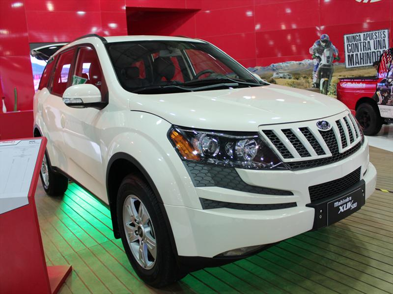 Mahindra XUV 500 debuta en el Salón del Automóvil