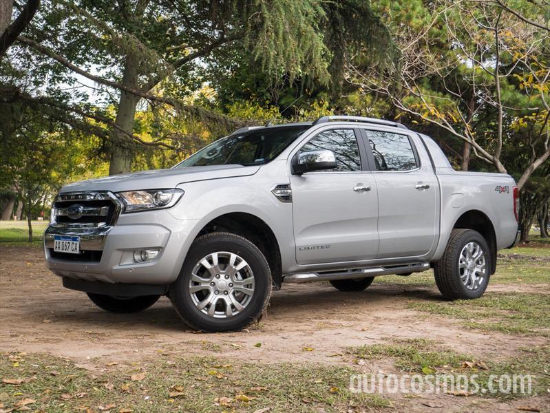 Nueva Ford Ranger a prueba