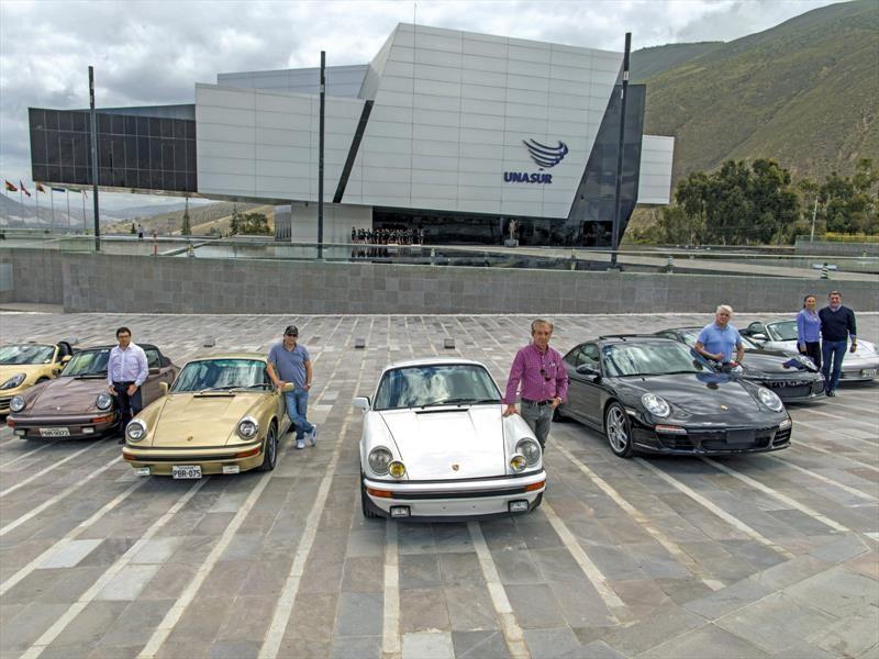 Porsche: travesía por la línea del Ecuador