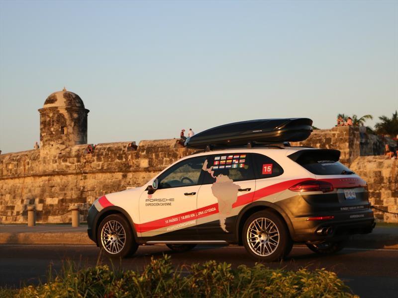 Expedición Porsche Cayenne: Colombia