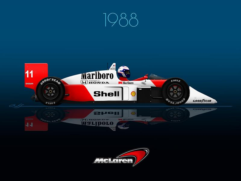 Ganadores GP F1 México 1988