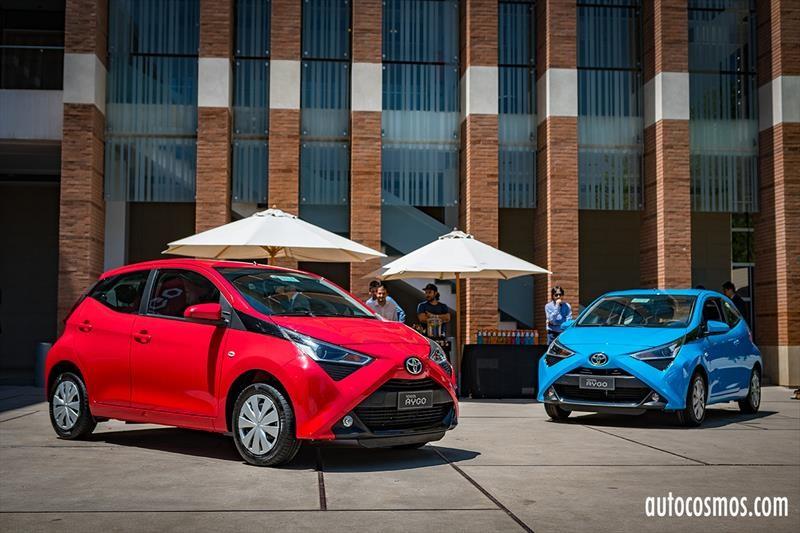 Toyota Aygo 2019 - Lanzamiento en Chile
