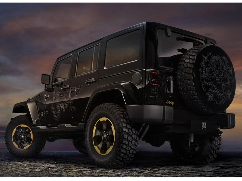 Jeep Wrangler Dragon Concept en Beijing 2012