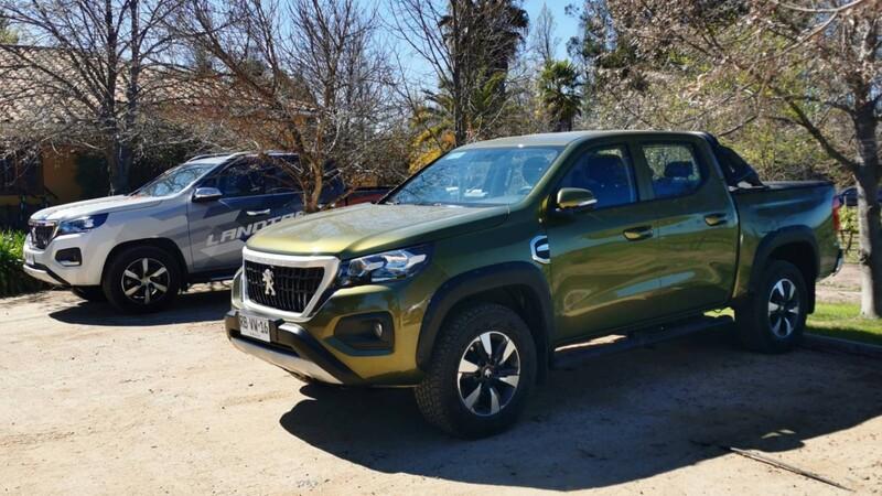 Peugeot Landtrek en Chile