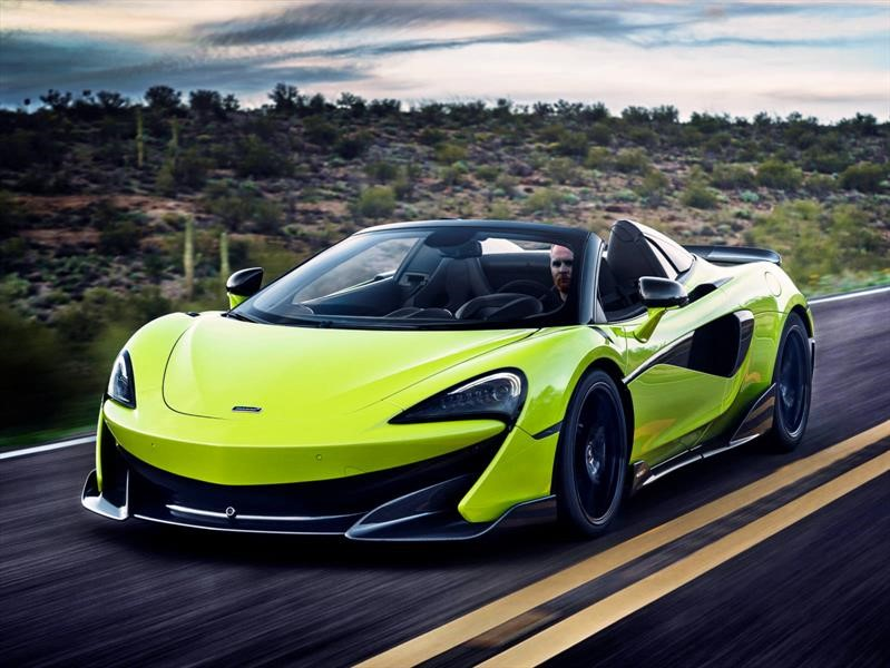 McLaren 600LT Spider - Test