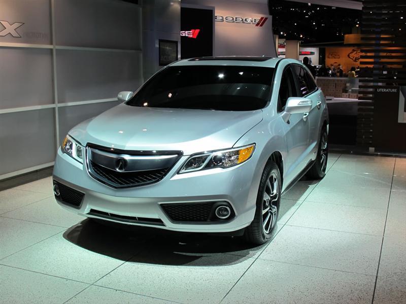 Acura RDX 2013 en el Salón de Detroit