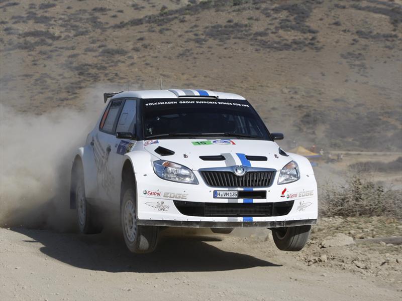 Skoda obtiene los primeros puntos en el WRC