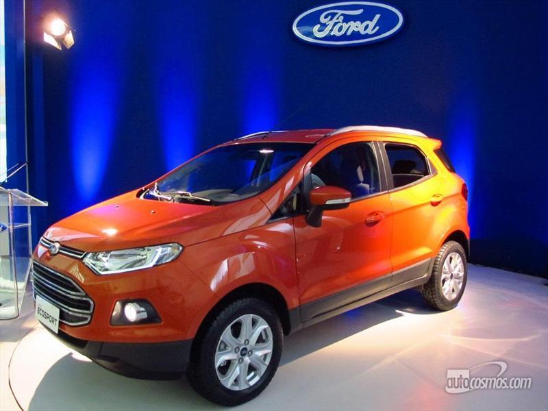 Ford EcoSport II presentación en Bahia