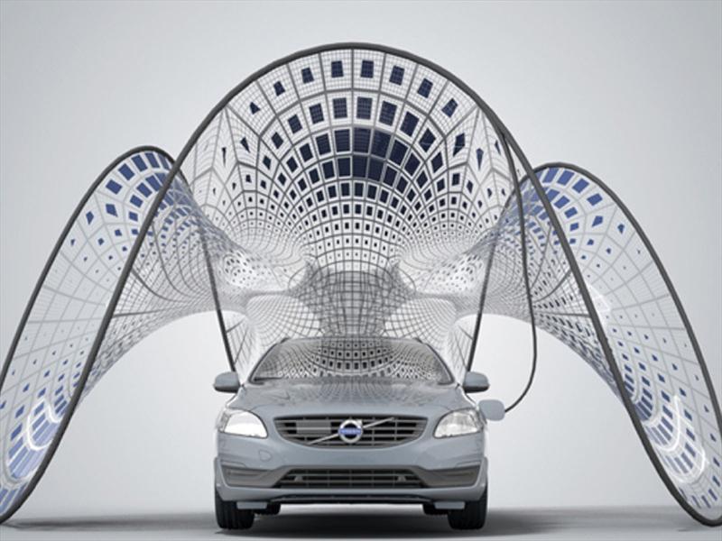 Volvo lidera la moda con su panel solar
