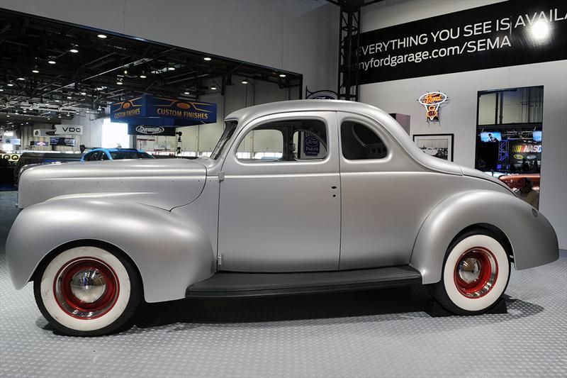 Top 10: Ford Coupé 1940 Hot Rod en SEMA Show 2012