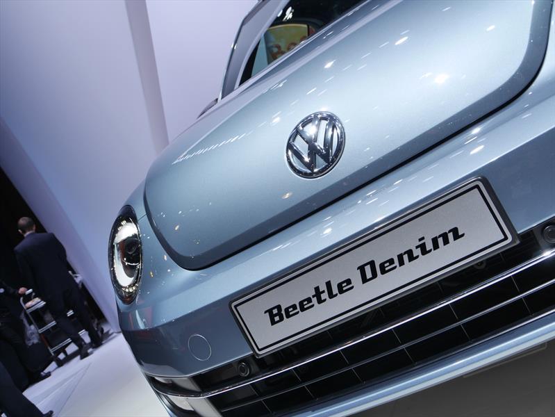Volkswagen Beetle Convertible Denim