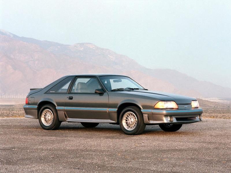Mustang 50 años: 1987 el rediseño y el exitoso 5.0