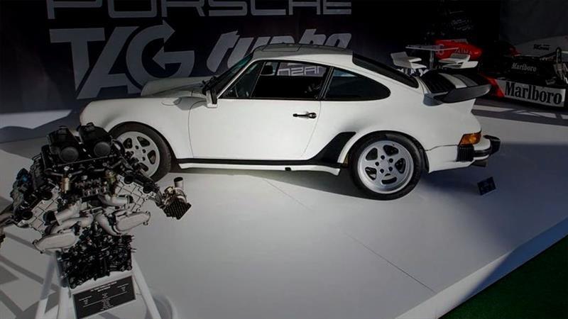 Porsche 911 (930) TAG Turbo con motor de F1