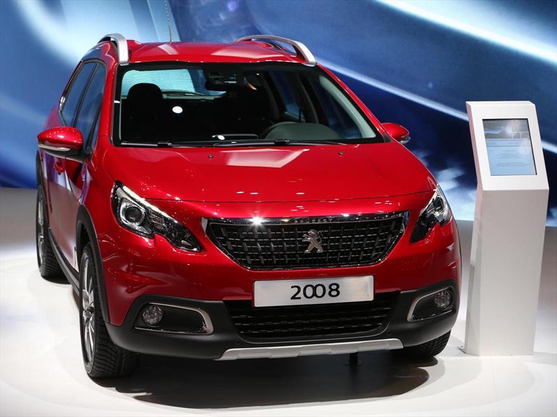 El Peugeot 2008 se actualiza en Ginebra 2016