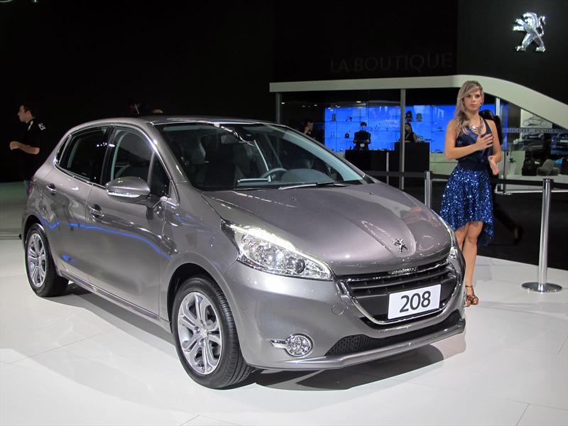 Peugeot 208 made in Brasil en San Pablo 2012