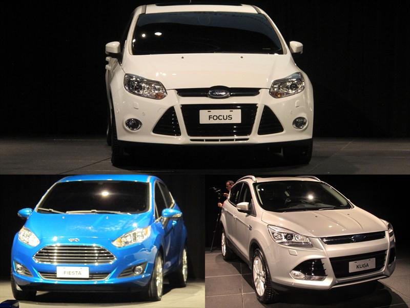 Ford anticipa los Fiesta, Focus y Kuga