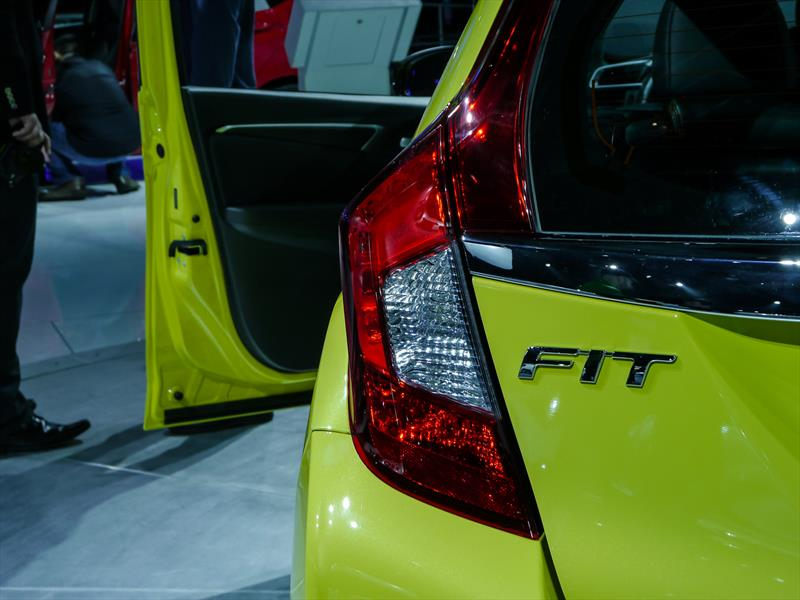 Honda Fit 2015 en el NAIAS