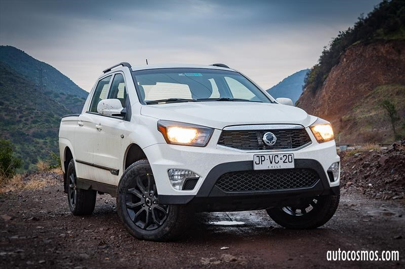 Ssangyong Actyon Sports 2.2 - Test Drive