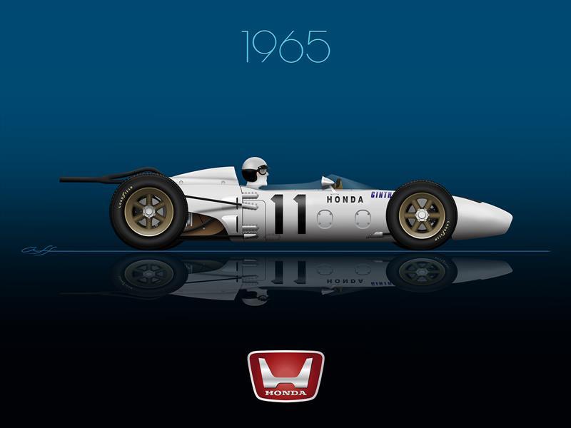Ganadores GP de México 1965