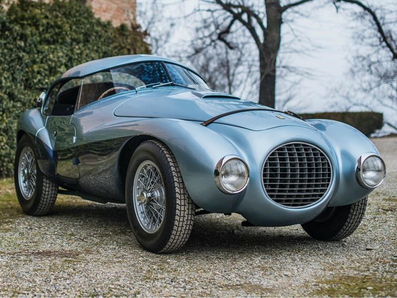 "Ferrari 166 MM/212 Export ""Uovo"" by Fontana 1950"