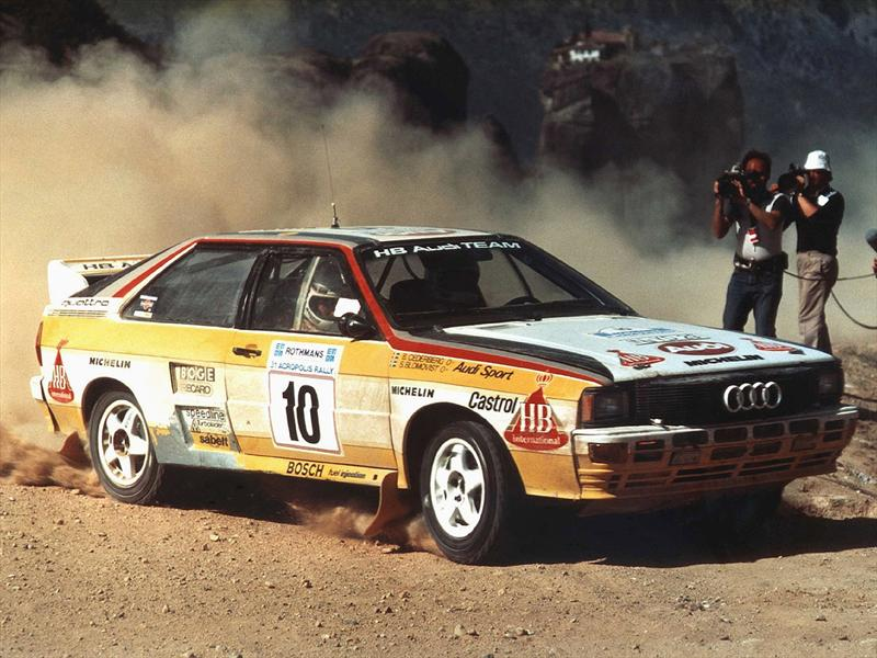 Top Ten: Audi quattro