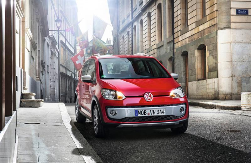 Volkswagen Cross Up! 2014, primeras imágenes