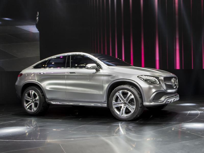 Mercedes Benz Concept Coupé SUV