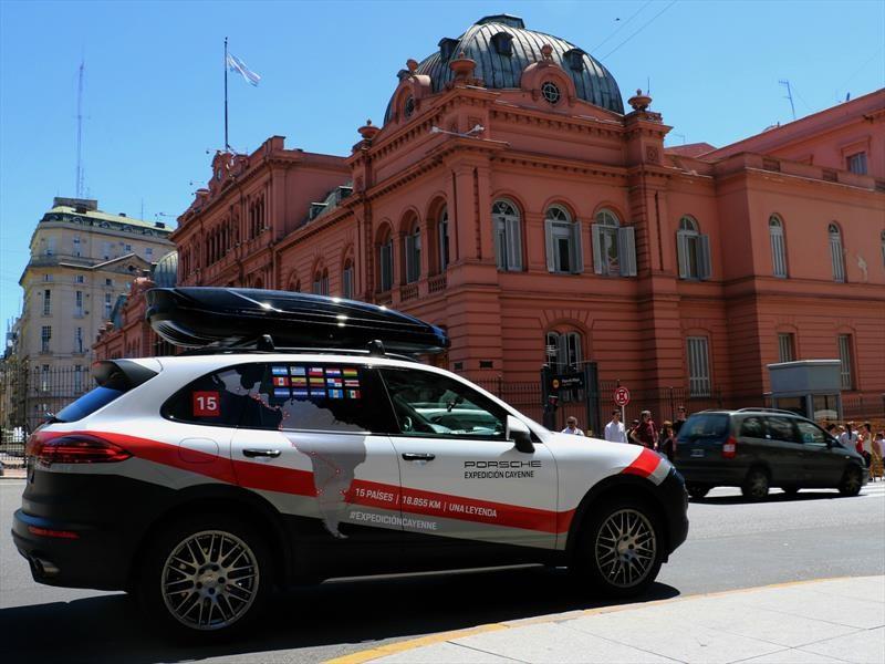 Expedición Porsche Cayenne: Argentina