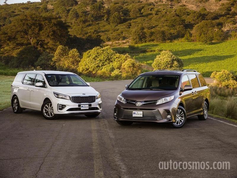 KIA Sedona 2019 VS Toyota Sienna 2018