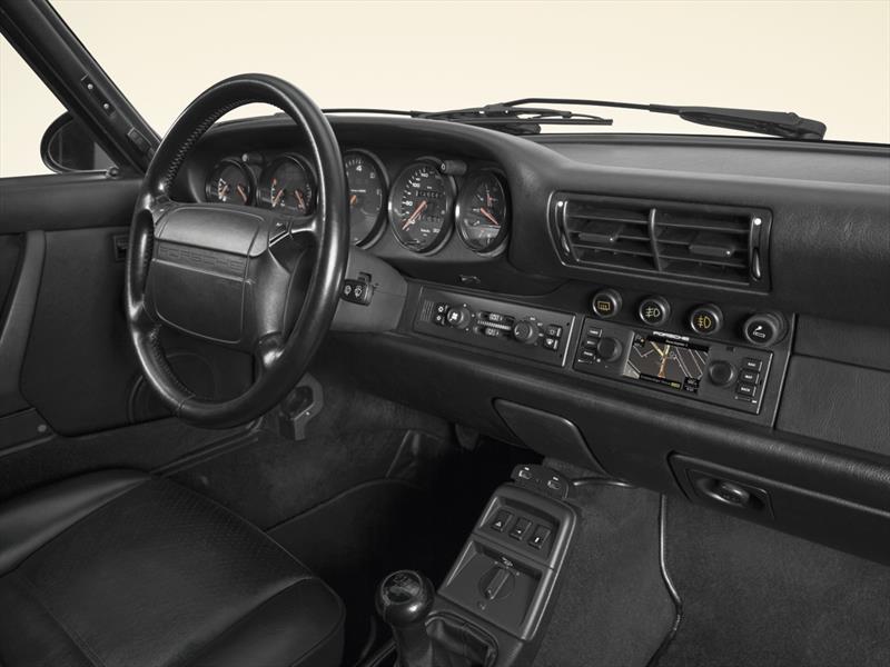 Sistema de navegación para los Porsche clásicos