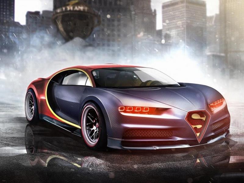 Autos que lucen como superhéroes