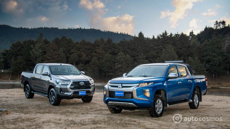 Mitsubishi L200 2021 VS Toyota Hulix 2021
