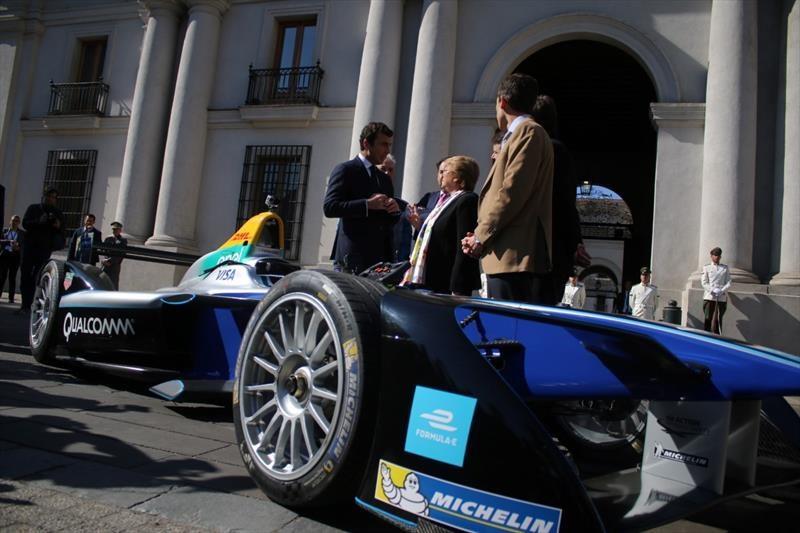 Lanzamiento Formula E en Chile