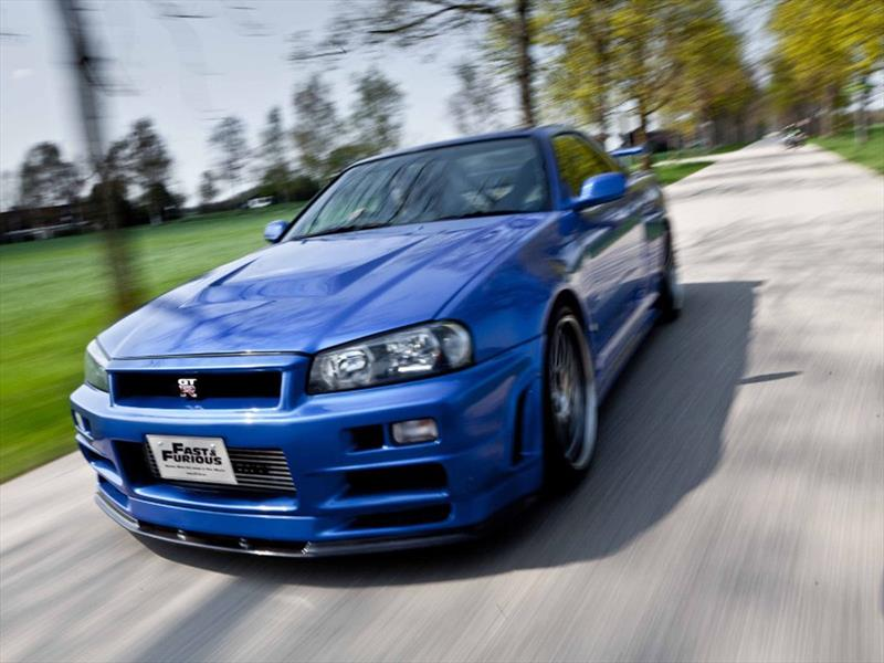 Nissan Skyline GT-R R34 de Paul Walker