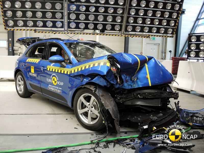 Pruebas de choque de SUVs por EuroNCAP