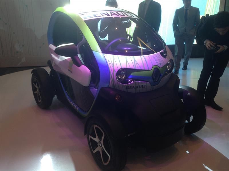 Nuevo Renault Kangoo, Twizy, Koleos y Safrane 2014