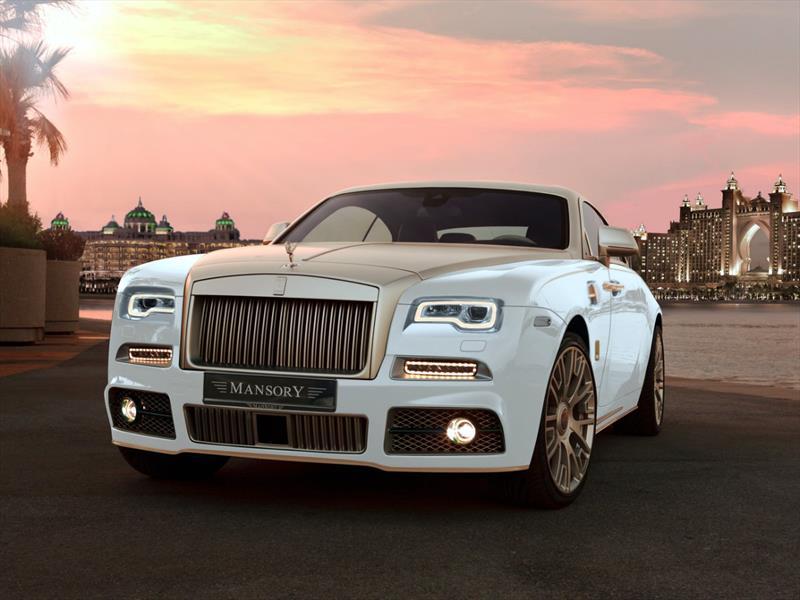 Rolls-Royce Wraith Palm Edition 999 por Mansory