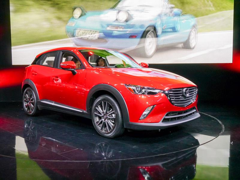 Mazda CX-3 2016 se presenta