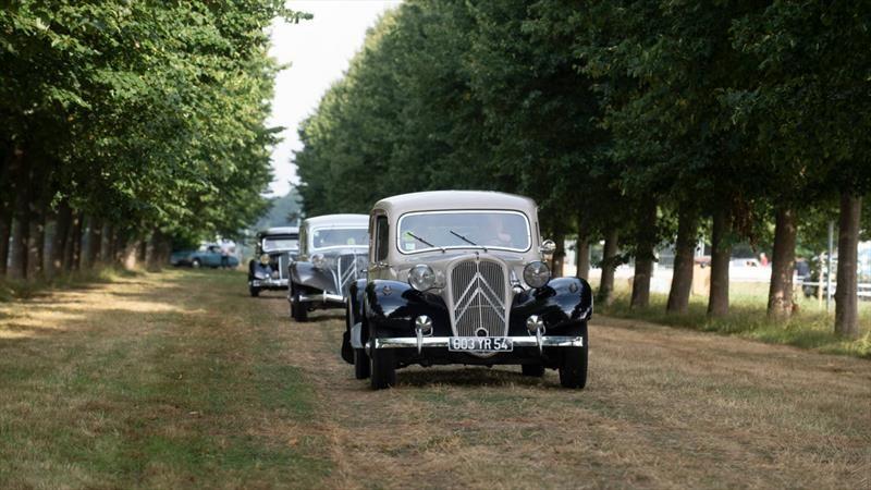 La celebración de los 100 años de Citroën