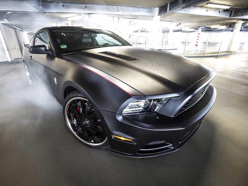 Hidalgo, el Ford Mustang que cambia de color