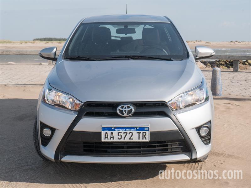 Toyota Yaris a prueba