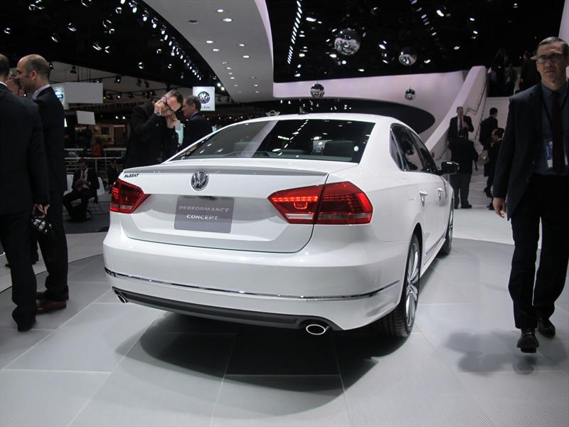 Volkswagen Passat Sport Concept en vivo