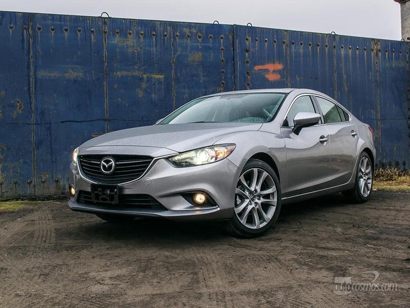 Mazda6 2014 a prueba