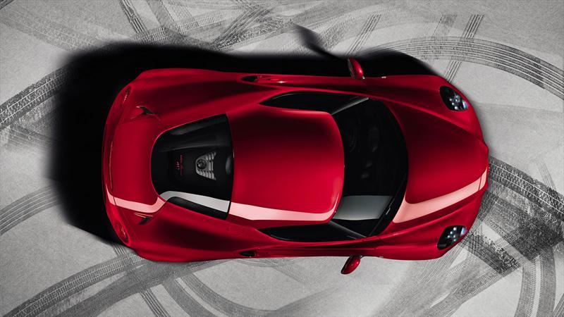 Alfa Romeo 4C con edición Launch Edition