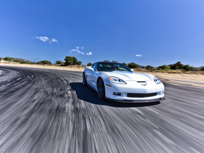 Chevrolet Corvette ZR1 2012 prueba