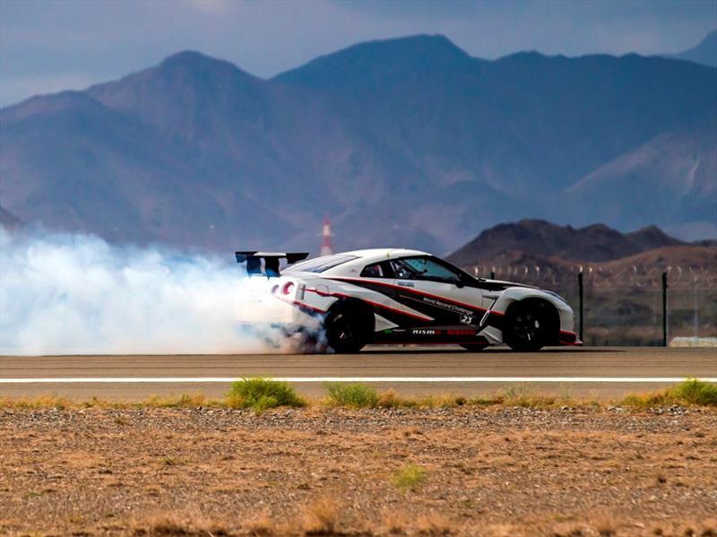 Nissan GT-R logra récord del drift más rápido